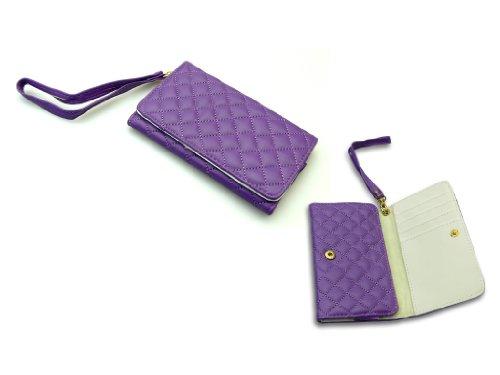 Sandberg Fashion Wallet für Apple iPhone 4/4S/5/5S violett