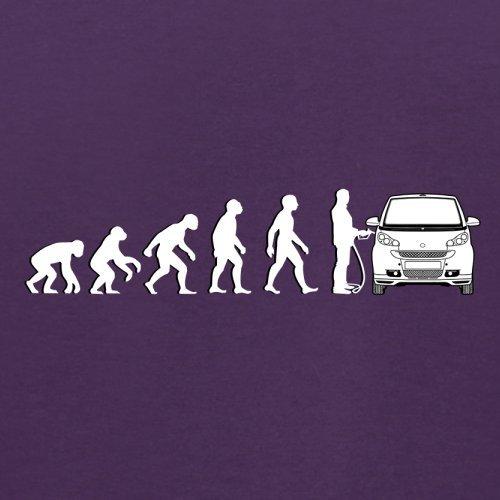 Evolution of Man - Smart Fahrer - Herren T-Shirt - 13 Farben Lila