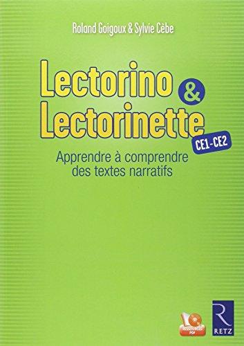 Lectorino & Lectorinette CE1-CE2 : Apprendre à comprendre des textes narratifs (1Cédérom)