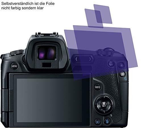 2X ANTIREFLEX matt Schutzfolie für Canon EOS R Displayschutzfolie Bildschirmschutzfolie Schutzhülle Displayschutz Displayfolie Folie Screen Protector