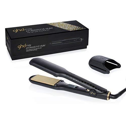 GHD Gold Max - Plancha de pelo profesional con tecnología cerámica y placas anchas de 2' (50.8 mm)