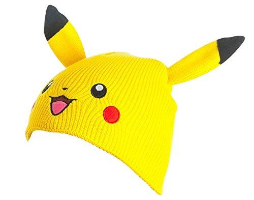 Preisvergleich Produktbild Pokémon Beanie Pikachu / Mütze für Erwachsene