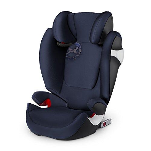 Preisvergleich Produktbild Cybex Gold Solution M-Fix, Autositz Gruppe 2/3 (15-36 kg), Kollektion 2018, denim blau, mit Isofix