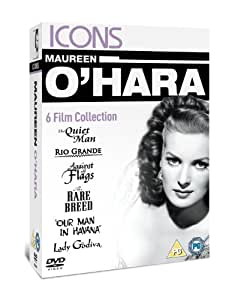 Maureen O'hara - Rio Grande (1950)/The Quiet Man/Lady Godiva/Against All Flags/The Rare Breed (1966)/Our Man In Havana [DVD]