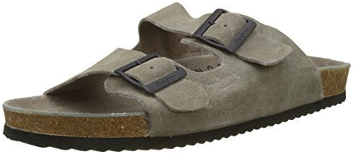 London Bio Suede, Mules Homme, Gris (Taupe), 45 EUPepe Jeans London