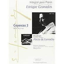 Integral para piano Enrique Granados: Goyescas 2: 4