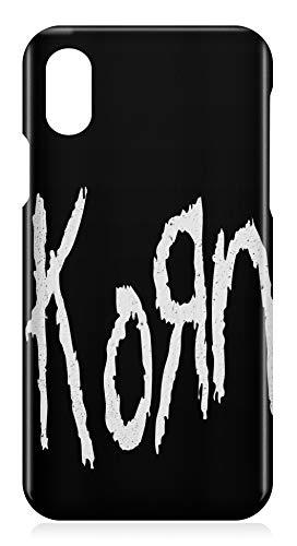 912ca35ebe7 LaMAGLIERIA Carcasa de iPhone X Korn Big Logo - Carcasa rigida para Apple  iPhone X