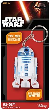 Kas Design Porte-Clés Star Wars R2D2 Torche Laser   La Mode De