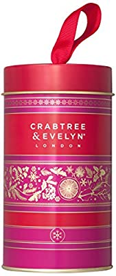 Crabtree & Evelyn Gardeners and Rosewater Hand Therapy Tin, 25 g, Pack of 2