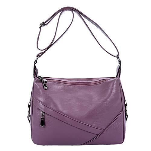 friendGG Neue Frauen Retro Sling UmhäNgetasche Mode UmhäNgetasche Large Capacity Handtasche UmhäNgetaschen Schultertaschen Rucksack Taschen Damen Handtaschen Tasche