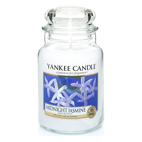 Yankee Candle Glaskerze, groß, Midnight Jasmine