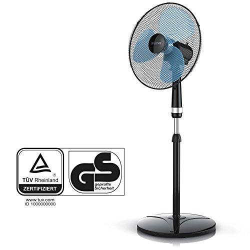 Brandson – Standventilator 40cm / schwarz - 2