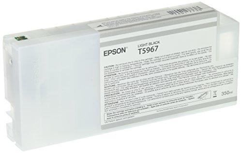 Epson T5967 C13T596700 - Cartouche d'encre d'origine - Gris (Light Black) pour Stylus Pro - 350ml