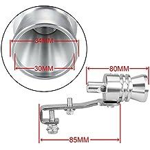 Dromedary - Silbato de Escape Universal con Sonido Turbo y válvula de soplado (Talla XL