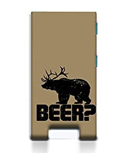 PrintVisa Designer Back Case Cover for Apple iPod Nano (7th Gen) :: iPod Nano 7 (Animals Beer Bear Stag Horns)