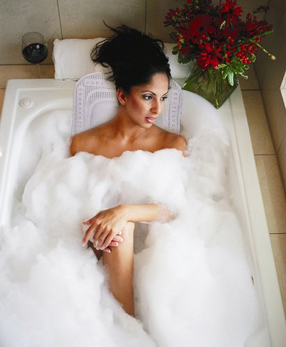 FULL BODY SPA BATH MAT WITH BUILT IN PILLOW (BATHE IN LUXURY!)