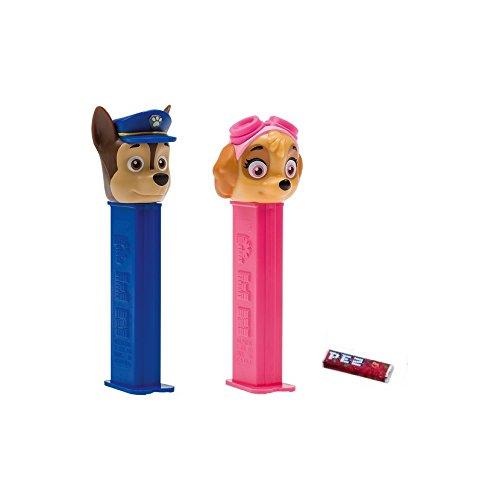 Figurine PEZ Pat Patrouille + 1 recharge bonbon bonbons - Aléatoire - 465