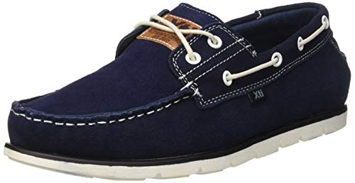 XTI 48687, Náuticos Hombre, Azul Navy, 41 EU
