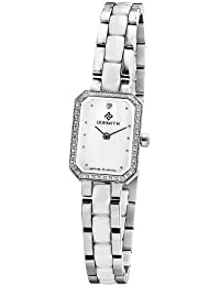 Women's 316L stainless steel ceramic strap sapphire glass Swiss movement quartz watches by Dormith®