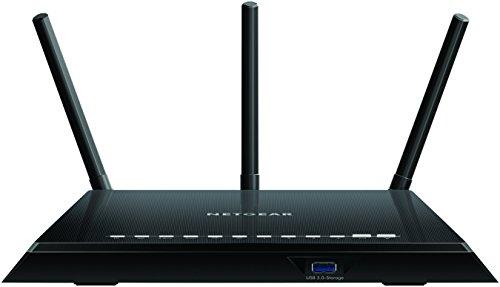 NETGEAR R6400-100UKS (802.11ac) Dual-Band Gigabit Smart Wi-Fi Router (Hochleistungsantennen steigern die Wi-Fi-Geschwindigkeit bis zu 450 Mbit/s + 1300 Mbit/s) Fast (AC1750 Mbps) (Ac1750 Smart Wifi Router)