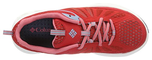 Columbia Damen Vent Master Outdoor Fitnessschuhe Rot (Bright Red, Wild Salmon 691)