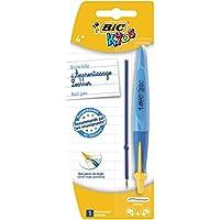 BIC Kids Twist System Stylo-bille d'Apprentissage Ergonomique - Blister de 1- Coloris Aléatoire (bleu/vert/rose/violet)