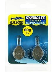 Dinsmores Pear Bomb Syndicate - Plomo de pesca, color marrón, talla 60 g