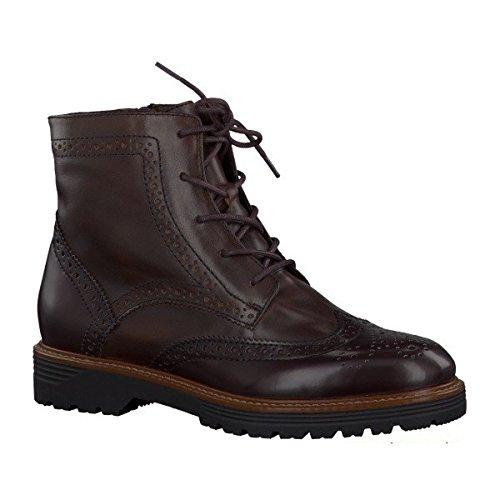 Jana , Boots richelieu femme Moka