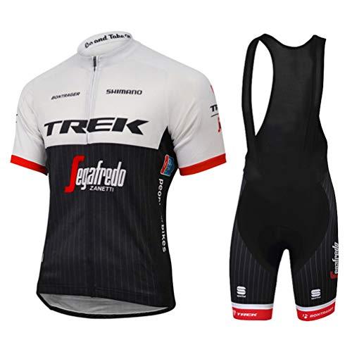 10fea420f6e6 Sports Thriller Rider Mountain Bike Abbigliamento Manica Corta per Uomo MTB  Maglietta da Ciclismo e Strap