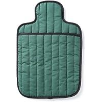 Hotties Bolsa de agua caliente acochada para microondas, verde esmeralda