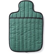 Hotties - Borsa dell'acqua calda, trapuntata, per microonde, colore: verde smeraldo