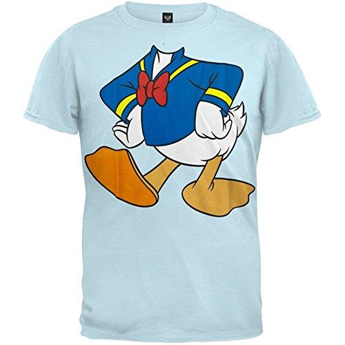 k–Donald Body Youth Jungen T-Shirt Gr. Small, Hellblau (Kinder Donald Duck Kostüme)