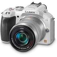 Panasonic DMC-G5K Fotocamera Mirorless con Mirino, Schermo LCD 3 Pollici, Full HD con Obiettivo 14-42 mm, Nero