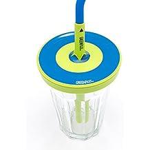 Coperchio universale adattabile a molti bicchieri. Senza BPA, questo silicone si estende per creare un bicchiere coperto resistente ai rovesci. Ideale per gli amanti di succhi e frullati e per quelli che vogliono abbandonare la plastica. Pacco da 2,