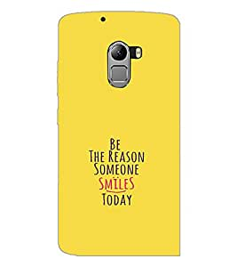 PrintDhaba Quote D-1130 Back Case Cover for LENOVO VIBE X3 LITE (Multi-Coloured)