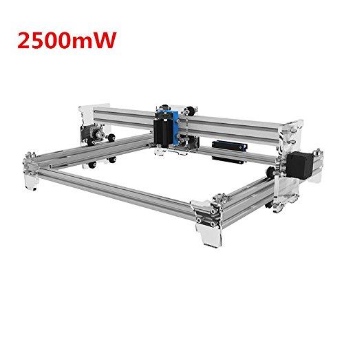 EleksLaser-A3 Pro 2500mW Laser Graviermaschine CNC Laser Drucker Laser Engraving Machine CNC Laser Printer (Flach 12 R Typ)