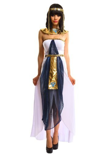 tra Gr. S 34-36 (Cleopatra Kostüme Für Kinder)