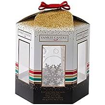 Yankee Candle 1521557regalo Set Poma y 3Melts Cristal, multicolor, 7.5x 7.5x 18.5cm