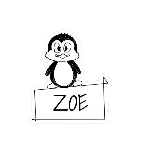 Preisvergleich Produktbild JOllipets Baby Kinder Aufkleber - ZOE - Variante: Tiere Zoo – Farbe: Design: Pinguin