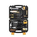 KKASB Toolbox Set di Kit di Utilità Multifunzionali Set di Strumenti Manuali Hardware per La Riparazione del Legno per Elettricisti Set di Strumenti Combinati Famiglia Chiave per Cacciavite