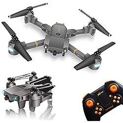 WINGLESCOUT FPV Drone avec Camera,RC Drone Enfant avec 720P HD Vidéo en Direct avec caméra Grand Angle,cellstar Drone Debutant,Hélicoptère Avion telecommandé avec capteur de détecteur de gravité