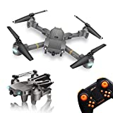 WINGLESCOUT Plegable Drone con Camara HD, 720P RC Drone Video Gran...