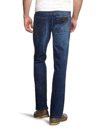 Wrangler Herren Jeanshose Classic Straight Fit Blau (Burnt Blue 39E)