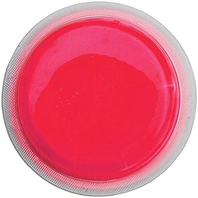 Cyalume LightShape - Paquete de 100 marcadores circulares luminosos , 4 horas, color rojo