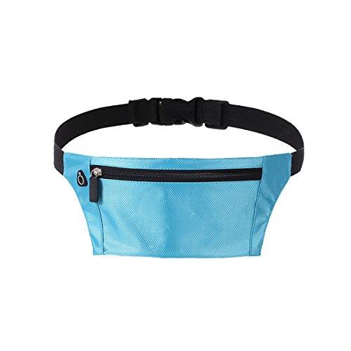 Multifunktionale Outdoor Fitness Sporttaschen Mehrfarbig Lightblue