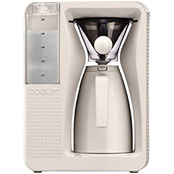 bodum bistro elektrischer kaffeebereiter 1 2l b over brausekopf system permanent filter. Black Bedroom Furniture Sets. Home Design Ideas