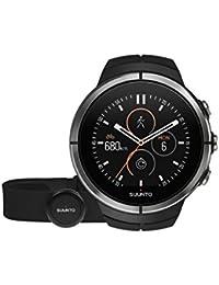 Suunto - Spartan Ultra Black HR - SS022658000 - Reloj Multideporte GPS + Cinturón de frecuencia cardiaca (Talla M)…