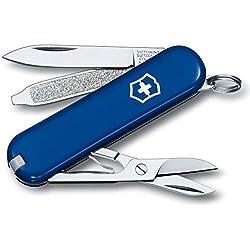 Victorinox 0.6223.2-012 Outil de Poche Classic SD Couteau Suisse - Bleu