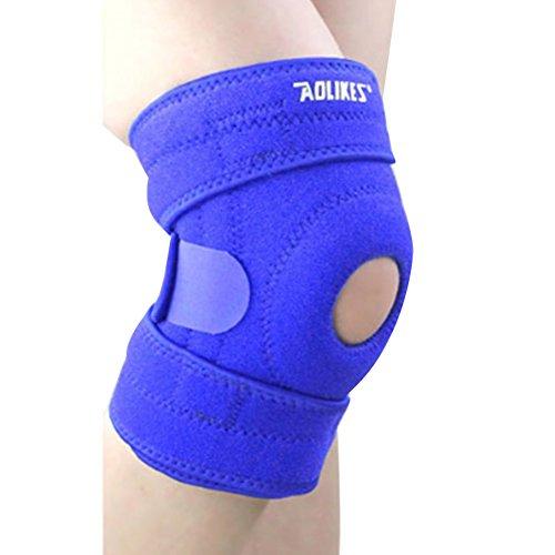 ndier Kniestütze, Orthese Knie réglablepour Rennen, Jogging, Übung, Auffangen von Schäden -