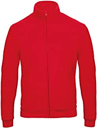 B&C Collection Unisex Full Coil Zip With Metal Slider and Pull Sweatshirts Jacket XS-2XL